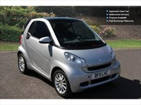 Used Smart Car Fortwo Cabrio Passion Mhd 2Dr Auto Cabriolet