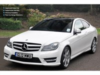 Used Mercedes C250 C-Class Cdi Blueefficiency Amg Sport 2Dr Auto Coupe