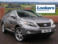 Used Lexus RX 450h Advance 5dr CVT Auto [Sunroof]