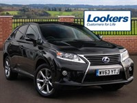 Used Lexus RX 450h Advance 5dr CVT Auto [Pan roof]