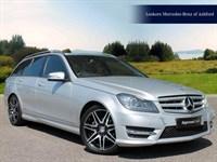 Used Mercedes C180 C CLASS BlueEFFICIENCY AMG Sport Plus 5dr Auto