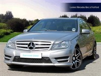 Used Mercedes C220 C-Class CDI BlueEFFICIENCY AMG Sport Plus 4dr Auto