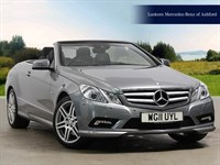 Used Mercedes E220 E-Class CDI BlueEFFICIENCY Sport 2dr Tip Auto