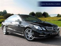 Used Mercedes E220 E CLASS CDI BlueEFFICIENCY Sport 2dr Tip Auto