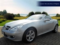 Used Mercedes SLK-Class 200K 2dr Tip Auto