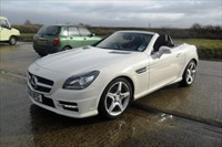 Used Mercedes 200 SLK-Class BlueEFFICIENCY AMG Sport 2dr Tip Auto