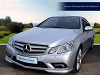 Used Mercedes E350 E-Class CDI BlueEFFICIENCY Sport 2dr Tip Auto
