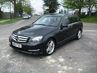 Used Mercedes C180 C-Class BlueEFFICIENCY AMG Sport 5dr Auto