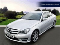 Used Mercedes C220 C-Class CDI BlueEFFICIENCY AMG Sport 2dr Auto Comand