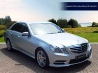 Used Mercedes E220 E CLASS CDI BlueEFFICIENCY Sport 4dr Tip Auto [7]