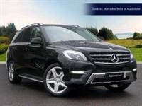 Used Mercedes ML250 M CLASS CDi BlueTEC AMG Line 5dr Auto [Premium]