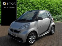 Used Smart Car Fortwo Cabrio CDI Passion 2dr Softouch Auto [2010]