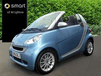 Used Smart Car Fortwo Cabrio Passion mhd 2dr Softouch Auto [2010]