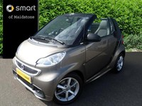 Used Smart Car Fortwo Cabrio Pulse mhd 2dr Softouch Auto [2010]