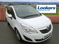 Used Vauxhall Meriva 1.4i 16V Exclusiv Limited Edition 5dr