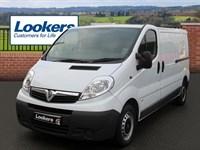 Used Vauxhall Vivaro CDTI [115PS] Van 2.9t Euro 5