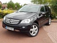 Used Mercedes ML320 M CLASS CDI Sport 5 door Tip Auto