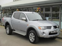 Used Mitsubishi L200 Double Cab DI-D Warrior 4WD Auto 134Bhp