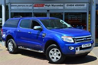 Used Ford Ranger Pick Up Double Cab Limited TDCi 150 4WD Auto