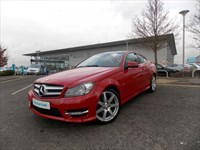 Used Mercedes C180 C-Class 7G-Tronic BlueEFFICIENCY AMG Sport