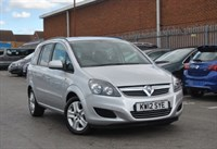Used Vauxhall Zafira 1.6i [115] Exclusiv 5dr Estate