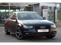 Used Audi A4 TDI (177 PS) Black Edition