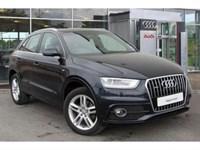 Used Audi Q3 TDI quattro (177 PS) S-Line S-Tronic *Sat Nav*