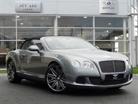 Used Bentley Continental GTC Speed. One owner, full history