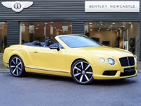 Used Bentley Continental GTC V8S VAT qualifing Mulliner driving spec