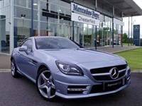Used Mercedes SLK200 SLK CLASS BlueEFFICIENCY AMG Sport 2dr Tip Auto