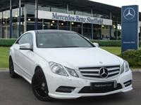 Used Mercedes E200 E CLASS BlueEFF Sport Edition 125 2dr Tip Auto