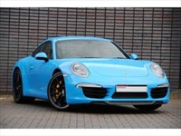 Used Porsche 911 SPECIAL ORDER Mexico Blue / Ceramics Sports Exhaust