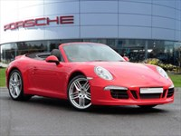 Used Porsche 911 Cabriolet PDK SportDesign Equipped