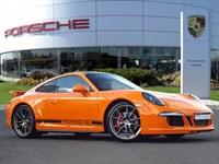 Used Porsche 911 Orange Aerokit Cup