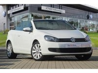 Used VW Golf Cabriolet TDI SE Bluemotion (105 PS) - Ask About 3 Years FREE