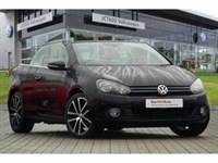 Used VW Golf Cabriolet TDI GT Bluemotion (140 PS) - Ask About 3 Years FREE