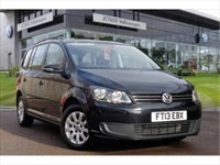 Used VW Touran TDI S (105 PS) ?500 deposit contribution and 2 years free ser