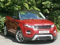 Used Land Rover Range Rover Evoque SD4 Dynamic Manual with Pa