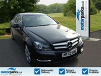 Used Mercedes C180 C CLASS (1.6) BlueEFFICIENCY AMG Sport 2dr Auto
