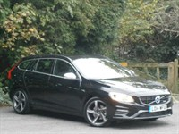 Used Volvo V60 D2 115hp R DESIGN 5dr with Sen