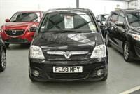 Used Vauxhall Meriva 1.6i 16V Design 5dr