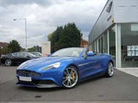Used Aston Martin Vanquish V12 2dr Touchtronic Auto