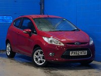 Used Ford Fiesta 1.25 Zetec 3dr [82]