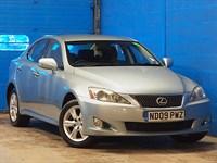 Used Lexus IS 220d SE 4dr [2009] [148g/km]