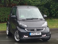 Used Smart Car Fortwo Cabrio Brabus Xclusive 2dr Softouch Auto [102]