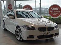Used BMW 520d 5-series M Sport 4dr Step Auto