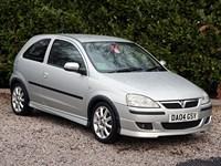 Used Vauxhall Corsa 1.4i 16V Exclusiv 3dr