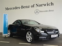 Used Mercedes SLK350 SLK-Class BlueEFFICIENCY AMG Sport