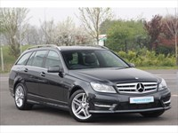 Used Mercedes C200 C-Class CDI BlueEFFICIENCY AMG Sport