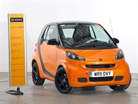 Used Smart Car Fortwo Coupe Night Orange Edition
